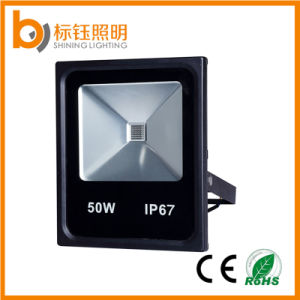 50W Light IP67 Waterproof Ultrathin Outdoor Lamp Slim LED Floodlight pictures & photos