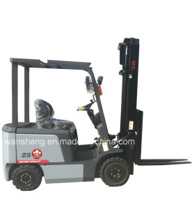 Excellent 2.5t Electric Forklift with Lifting Height 4m pictures & photos