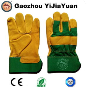 Protective Industrial Leather Work Gloves pictures & photos