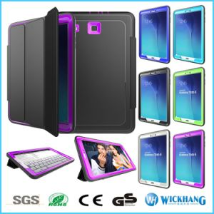 Armor Shockproof Flip Smart Cover Case for Samsung Galaxy Tab E 9.6 T560 pictures & photos