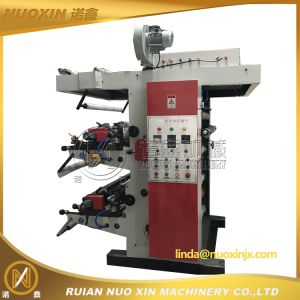 2 Color Online Flexo Printing Machine pictures & photos