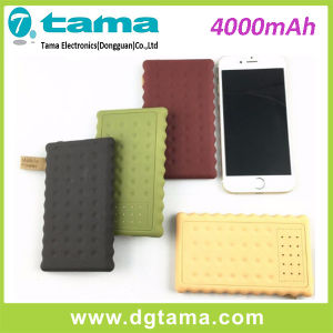 4000mAh Portable Power Bank- Li-Polymer, Colorful Cookie pictures & photos