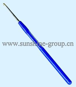 Alu Crochet Hook Plastic Handle 2.5mm Blue pictures & photos