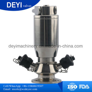 Stainless Steel Sampled Type Diaphragm Valve (DY-V103) pictures & photos