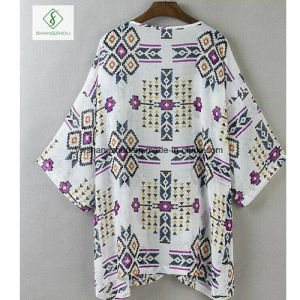 New Design Chiffion Rhomb Grid Shirt Factory Direct pictures & photos