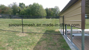 PVC Coated Chain Link Fence Wire Mesh Fencing pictures & photos