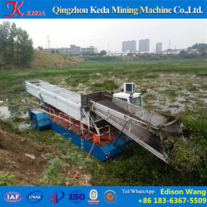 Water Weed Cutting Harvester Machine pictures & photos
