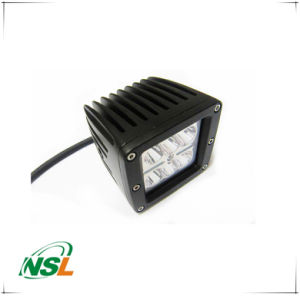 18W 4inch Square CREE LED Work Light Spot Beam SUV 4X4 Truck ATV Motor Truck Working Light Use pictures & photos