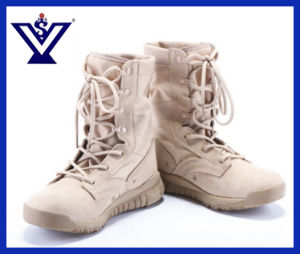 Desert Military Boots Khaki Army Boots Combat Boots (SYSG-414) pictures & photos
