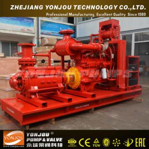 D Sea Water Transfer Diesel Engine Multistage Centrifugal Pump pictures & photos