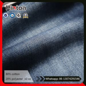 10oz Slub Denim Fabric Twill Blue Jeans Fabric for Pants pictures & photos