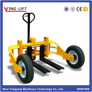 Hydraulic Manual All Terrain Pallet Truck pictures & photos
