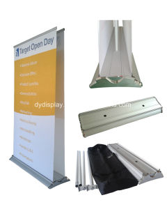 Aluminum Fabric Double-Sided Roll up Banner Stand Display (SR-07) pictures & photos