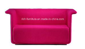 Living Room Fabric Sofa with Armrest pictures & photos