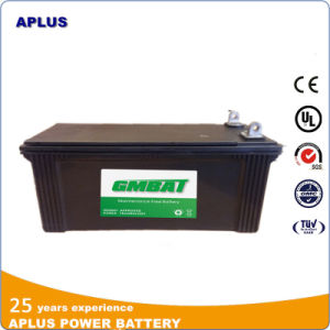 62034mf DIN120ah Wet Charged Lead Acid Maintenance Free Truck Battery pictures & photos