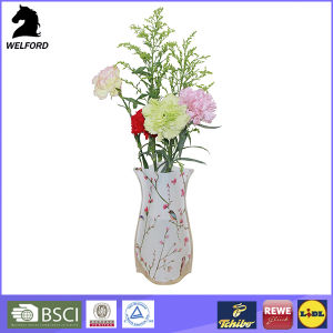 Unbreakable Collapsible Flower Vase Plastic Vase pictures & photos