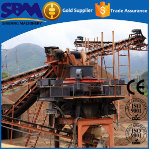 Shanghai High Quality Vertial Sand Crushing Machine pictures & photos