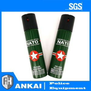 Moderate Price 110ml Self-Defence Nato Tear Gas pictures & photos