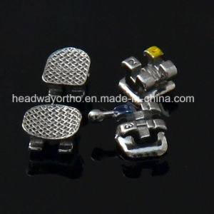 China Factory MIM Bondable Standard Roth Orthodontic Bracket Ce Certificate pictures & photos