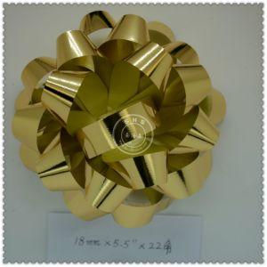 Handmade Wholesale Plastic Decoration Star Bow pictures & photos