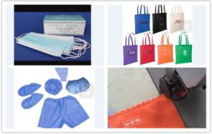 CH-S60 Ultrasonic Lace Machine for Non-Woven Bag/Surgical Cloth/Table Cloth, etc pictures & photos