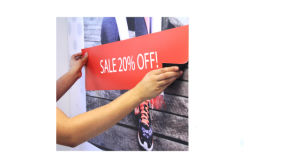 High-Quality Magnetic Receptive Wall Signage or Magnetic Menu Board Sign Printing pictures & photos