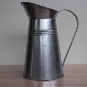 Sliver Open Mouth Water Kettle with Handle