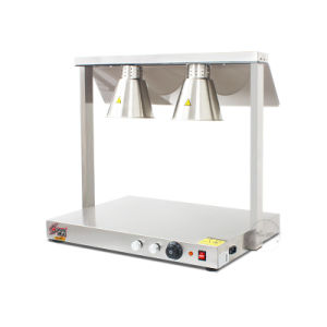 Three Head Stainless Steel Food Warmer Lamp Lh-03 pictures & photos