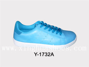 Light Beautiful in Colour Canvas Shoes pictures & photos