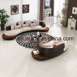 Best-Selling Modern Home Furniture 1+2+3 Leather Sofa (UL-NSC185) pictures & photos