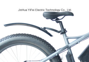 High Power 26 Inch Fat Tire Electric Bike with Lithium Battery Beach Cruiser pictures & photos