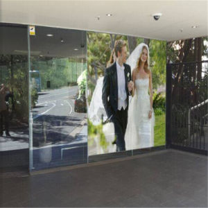 P20 Transparent Wall Display From Professional Manufacture pictures & photos