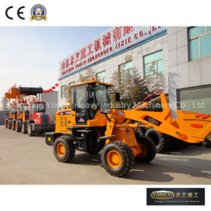 Ce Approved 2 Ton Wheel Loader Mini Wheel Loader for Sale
