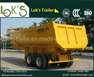 2axle Tipper Semi-Trailer 20 -22 Cbm U-Style pictures & photos
