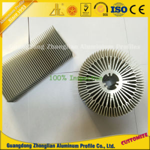 Aluminum Extrusion LED Rectangular Heat Sink pictures & photos