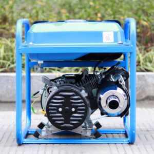 Bison (China) BS2500e 2kw 2kVA New Design Copper Wire Portable Power Electric Gasoline Generator pictures & photos