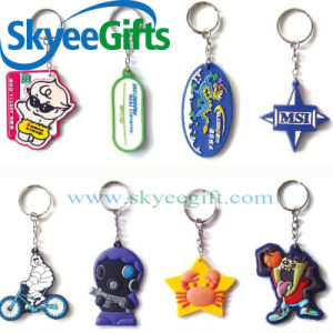 High Quantity Cartoon Rubber PVC Keychain pictures & photos