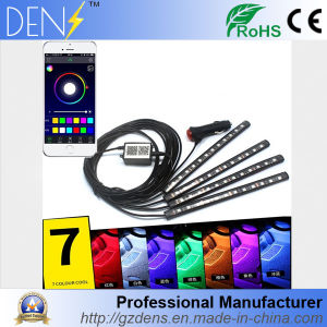 7 Color Smartphone APP Control Car Internal Interior Ambient Light pictures & photos