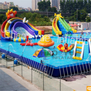 0.9mm PVC Tarpaulin Giant Inflatable Water Park for Water Sports pictures & photos