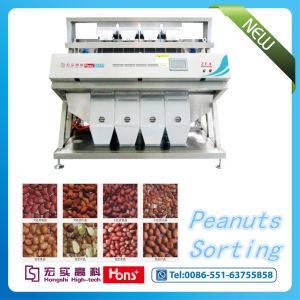 Grain Color Sorter for Pumpkin Seeds, Raisin, Nuts, Beans pictures & photos