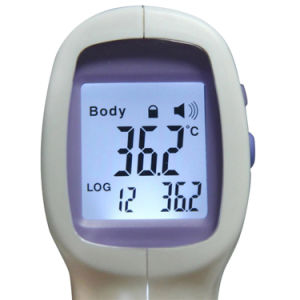 LCD Non-Contact IR Laser Gun Infrared Digital Thermometer pictures & photos