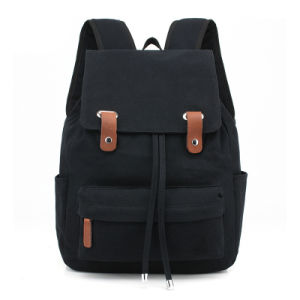 Canvas Backpack Laptop Bag Leisure Sports Bag pictures & photos