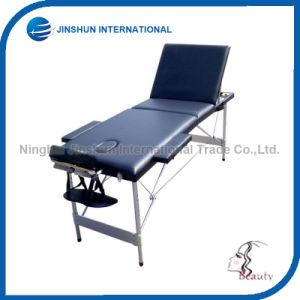 Portable Seventy Percent off Aluminium Alloy Folding Massage Bed (JSI-0004) pictures & photos
