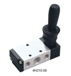 4h Series Airtac Type Pneumatic Hand Lever Valve pictures & photos
