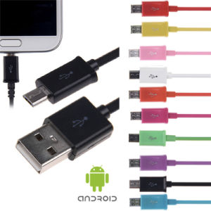 Mobile Accessory PVC Charging Data USB Cable for Samsung Phone pictures & photos