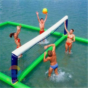 Volleyball Court Inflatable Water Sports Game for Volleyball (CYWG-1538) pictures & photos