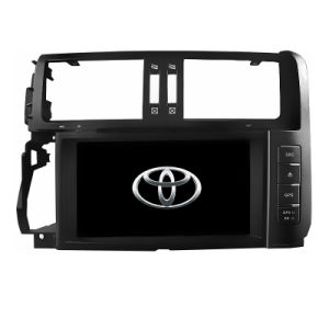 Micro Quad Core Wince 6.0 Operation System in Dash for Toyota Prado 150 2010-2013 with 3G RDS TV iPod
