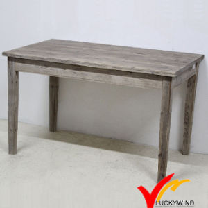 Solid Farmhouse Vintage Handmade Sandblasting Wooden Table pictures & photos