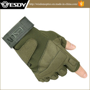 Tactical Half-Finger Airsoft Military Hunting Cycling Protective Sports Gloves pictures & photos