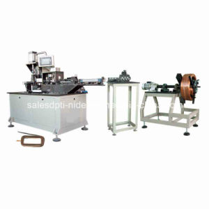 Stator Magnetic Field Coil Flat Wire Winding Forming Machine pictures & photos